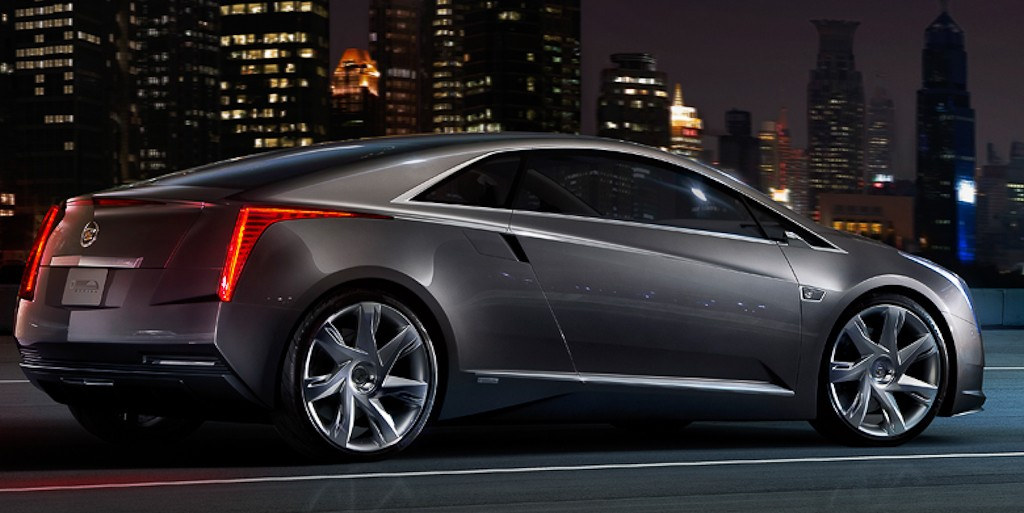 Cadillac ELR right rear hero